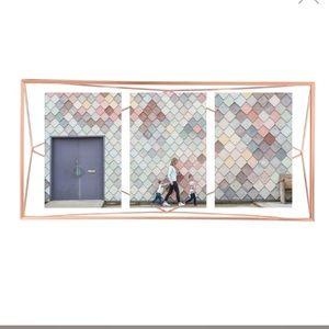 Umbra copper prisma multi photo display